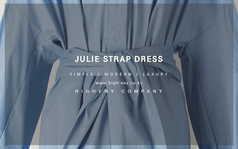 Julie strap dress