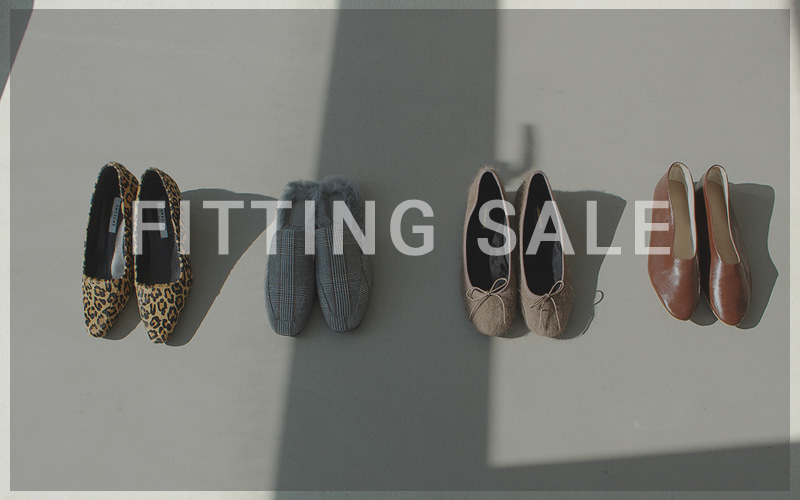 2017 F/W FITTING SHOES SALE 34