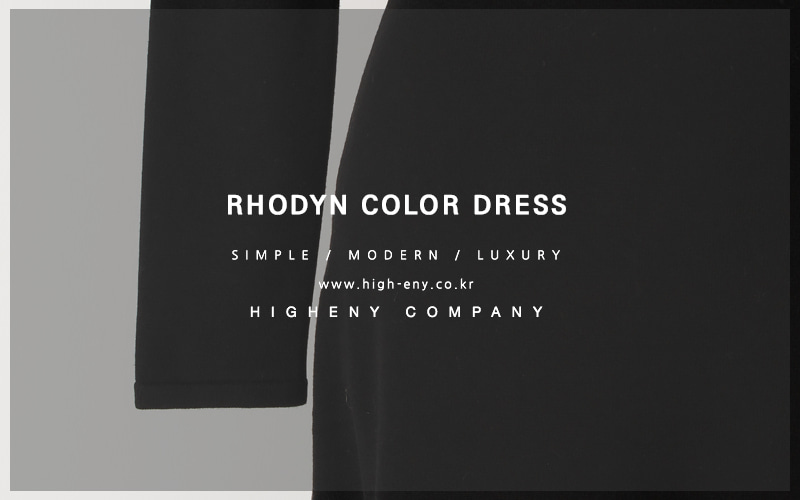 Rhodyn color dress