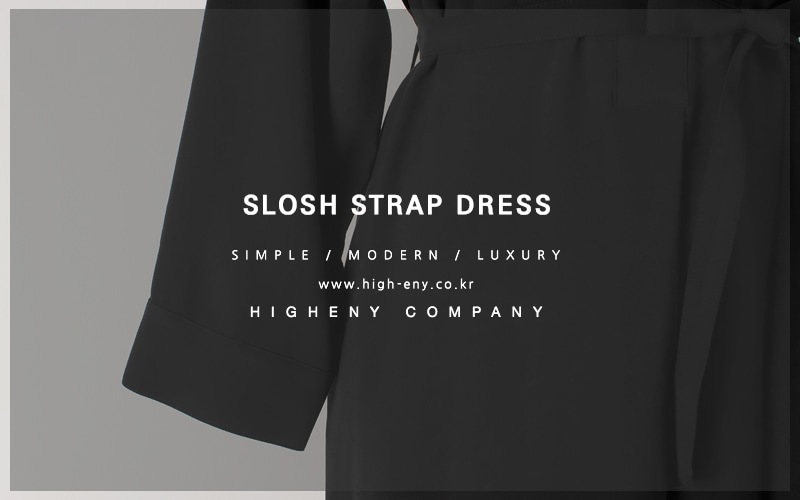 Slosh strap dress