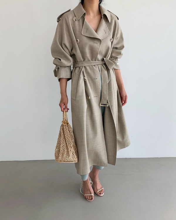 Muse trench coat