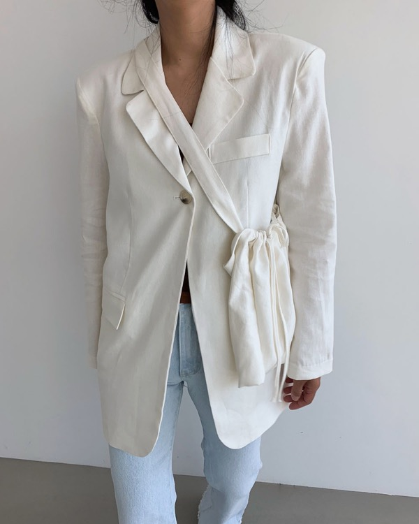 One button bag jacket