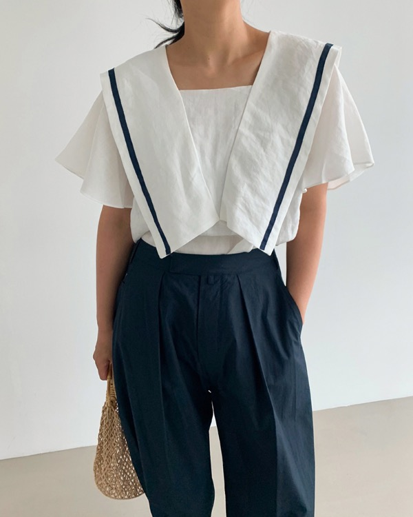 Season linen blouse