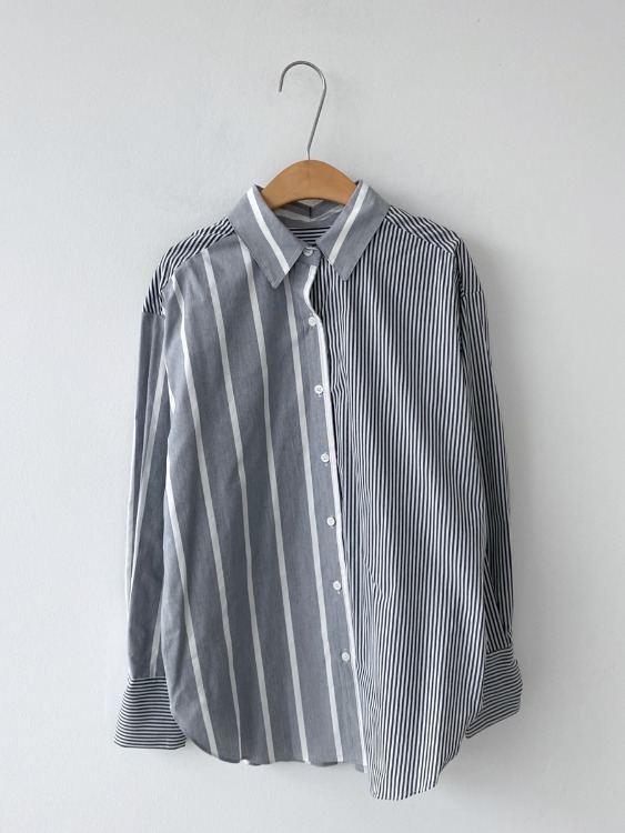Mix stripe shirts