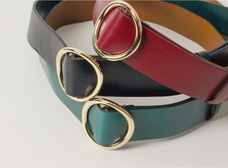 Colorful ring belt
