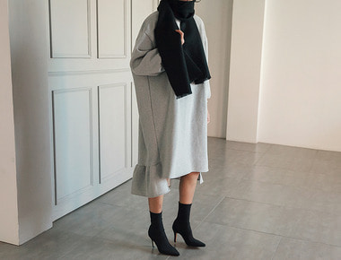 Fleece shearing dress