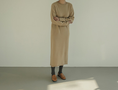 Wholegarment pine dress