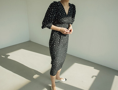 Polca dot dress