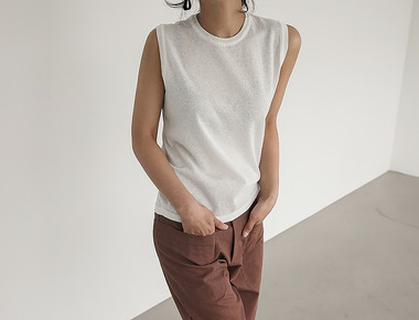 Verna sleeveless knit