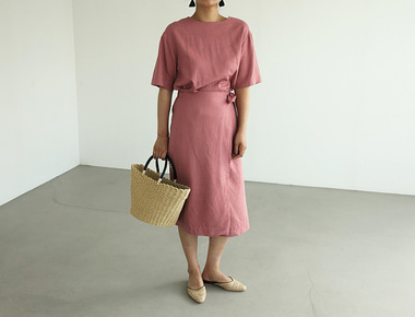 Beaker wrap dress