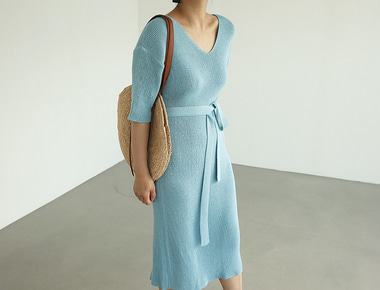 Cocktail knit dress