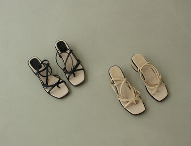 MS654 Long strap natural sandal