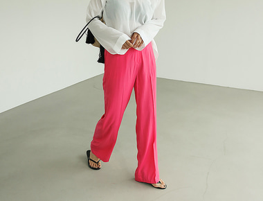 Rayon long pants