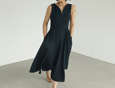 Course long dress