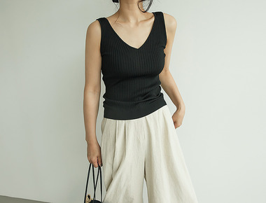 Theo sleeveless knit