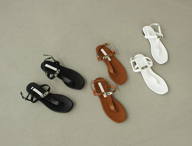 ST1154 Buckle point sandal