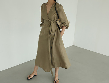 Foshen linen dress