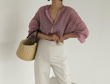 Square cooling blouse