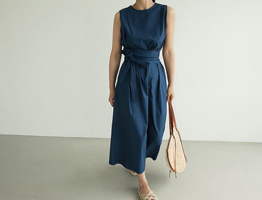 Norton strap dress