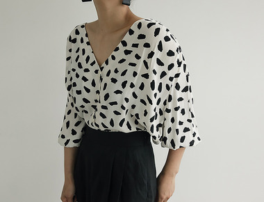 Bazaar pattern blouse