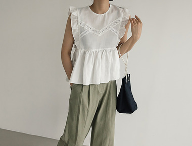 Cury frilly blouse