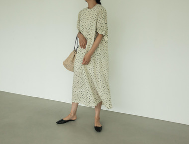 Mimi dot dress