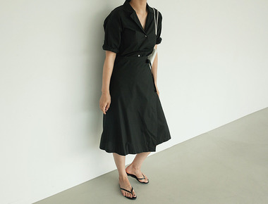 Callor wrap dress