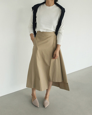 Zuka wrap skirt