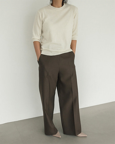 Koi wool silk pants