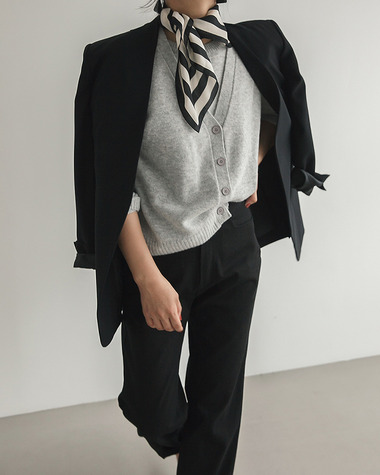 Wang double cardigan