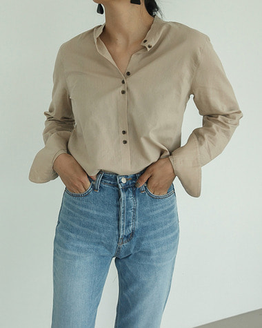 Rume button blouse