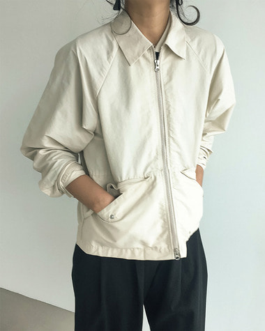 Slow pocket jacket