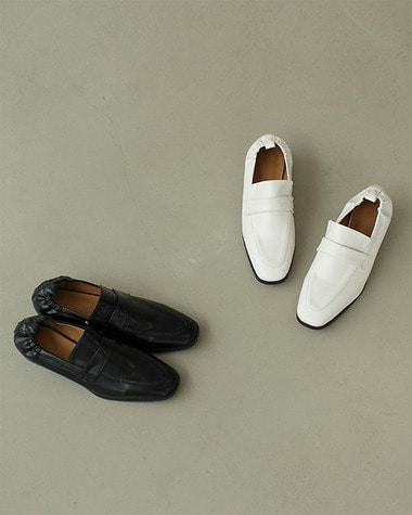 K7777 Banding back loafer