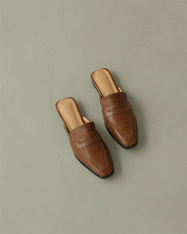W651 Classic loafer mule
