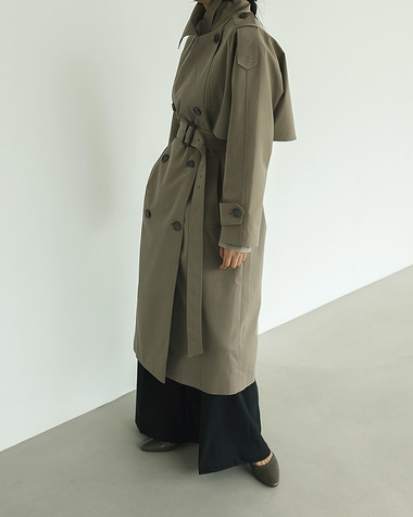 Aden trench coat