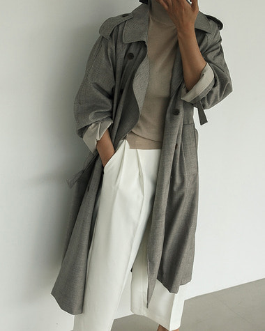 Bay trench coat