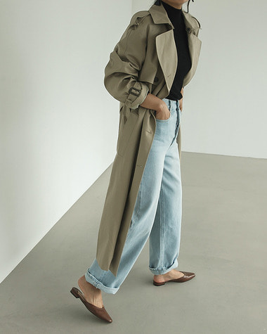 Mentor trench coat