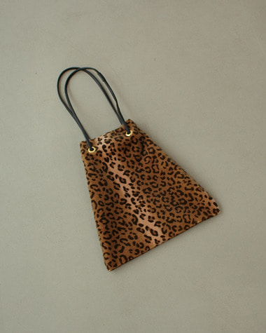 Leopard point bag