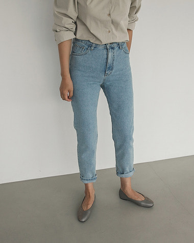 Loe basic denim pants