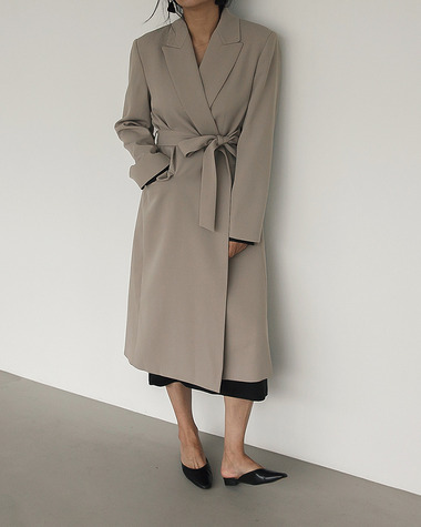 Jard belt coat