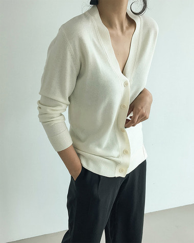 Cedric button cardigan