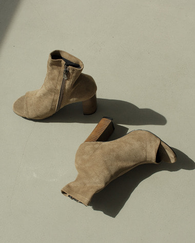 LN0271 Open toe ankle boots