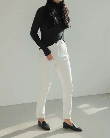 Gent black slim pants