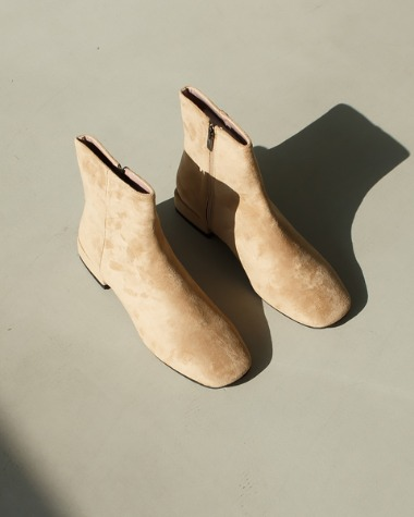 ST1222 Suede minimal boots