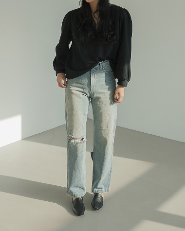 LA vintage denim pants