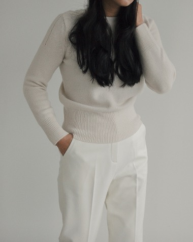 Plum basic knit