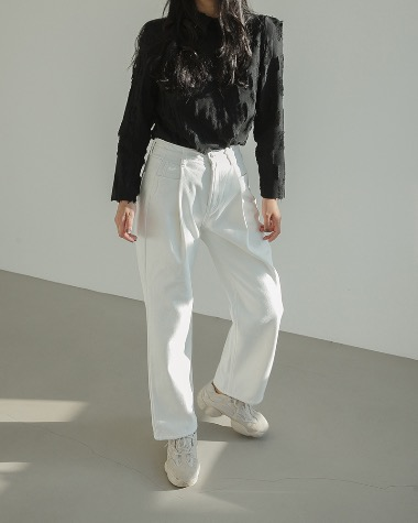 Mink fleece pants