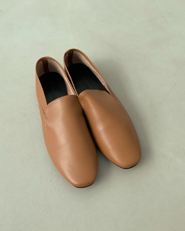BP78075 Simple smooth loafer