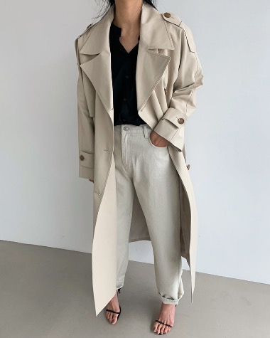 Becker trench coat