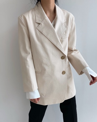 Cotton unbalance jacket